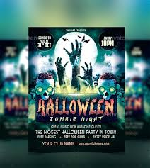 Zombie Flyer Templates Free Word Party Zombie Flyer Free Zombie ...