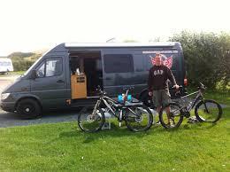 Bike Campers Steves Mercedes Sprinter Build A Campervan Motorhome