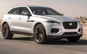 Silver Jaguar F-Pace On Road-vjo097  D