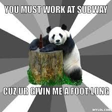 Pickup Line Panda Meme Generator - DIY LOL via Relatably.com