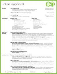 15 best portfolios and resumes - Sample Resume For Interior Designer
