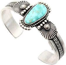 Amazon.com: Navajo Tooled Silver Bracelet by Herman Smith: Clothing