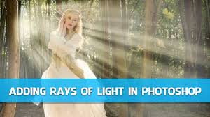 Add Light Rays In Photoshop Gavin Hoey Adding Rays Of Light In Photoshop