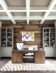 home office wall. Accent Wall Ideas For Office Home Transitional With Beamed . N