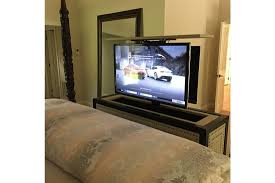 Foot Of Bed TV Lift Cabinet By Cabinet Tronix  CabinetTronix - Bedroom tv lift cabinet