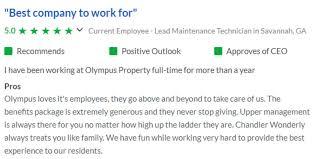 olympus property career opportunities