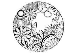 Disegni Fiori Facili Elegante Disegni Da Colorare E Da Stampare