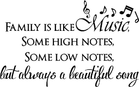 Beautiful Short Quotes On Family Best Of Family Is Like Music Some High Notes Some Low Notes But Always A