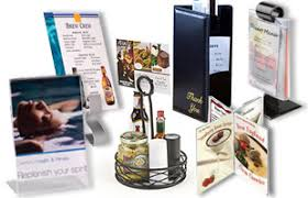 Restaurant Table Top Display Stands Menu Holders Sign Holders Covers Outdoor Cases Floor Stands 2