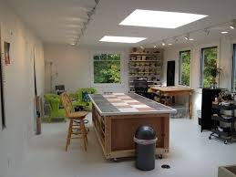 art studio lighting. Art Studio Lighting. Storage Room Above Garage To Studio; 2 Skylights, More Lighting