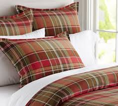 plaid duvet covers king incredible brown cover sweetgalas regarding prepare 15 for 7