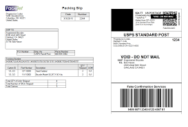 Sample Packing Slip Form Reduce Paperwork With Combined Packing Slip And Shipping