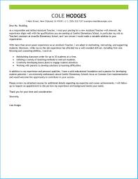 Captivating Teaching Assistant Cover Letter As Prepossessing