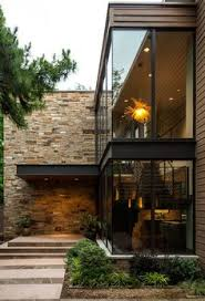 architecture houses glass.  Architecture Stone Walls And Plate Glass Window Walss Intersect Beautifully In This  Modern Contemporary Home Bluffview Project By Stocker Hoesterey Montenegro Architects On Architecture Houses Glass