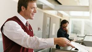 airline ticket agent