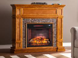 belleview sienna infrared electric fireplace media console fi9333 southern enterprises