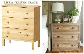 tarva dresser ikea. The New Nightstands-An Ikea Tarva Hack Dresser