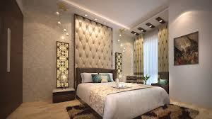 wooden bed back design. Delighful Wooden View Of Bed Room Designed With Wooden Having Fabricated Back Rest  Back  Wall Intended Wooden Bed Design D