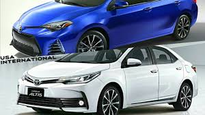 2018 toyota models usa. toyota corolla 2018 usa vs international model models usa