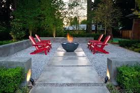 gravel patio designs inspirational fire pits patio fire pit pea gravel bed ideas around under