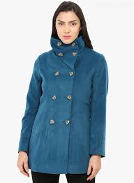 authentic womens winter jackets latest lbbh snw styles gipsy turquoise solid winter jacket