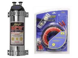 car audio stinger 1 farad digital capacitor 4 gauge amplifier car audio stinger 1 farad digital capacitor 4 gauge amplifier installation kit