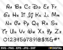 Mickey Mouse Font Free (Page 1) - Line.17QQ.com