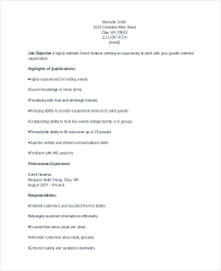 Hostess Resume Delectable 28 Hostess Resume Templates PDF DOC Free Premium Templates