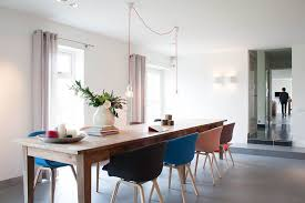 Houzz Pendant Lighting Dining Room Contemporary With Black Dining Chair Blue  | Beeyoutifullife.com
