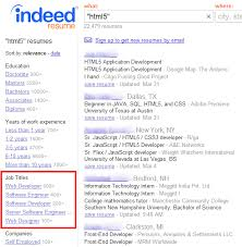 Indeed Resume Search Resume Templates