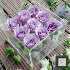 Light Purple M Ms Crystal Box Light Purple