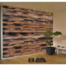 weathered barn wood wall paneling kit