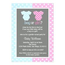Marvelous Printable Gender Reveal Invitations Baby Shower Invitation