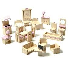 cheap wooden dollhouse furniture. Dollhouse Furniture Sets Wooden Dolls House Cheap Uk L