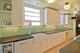 ... Subway Tile Kitchen Backsplash Color Green Ceramic Subway Tile:  Charming Green Tile Backsplash ...