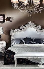 White Gothic Bedrooms
