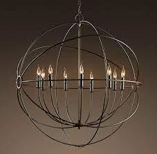 chandelier restoration hardware vintage