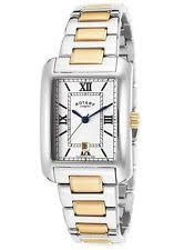 mens rotary watch two tone rotary two tone mens watch gb02651 01