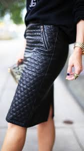Foto: Pinterest | Outfit's de Mujer | Pinterest | Fashion, Blog ... & Quilted leather skirt, You will look ahh so elegant in this skirt! Adamdwight.com