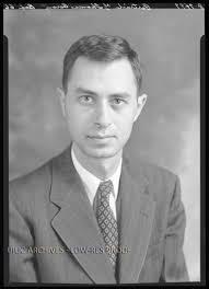 Portrait of Dr. Thomas Baron, University professor of chemistry. - pl_0004994