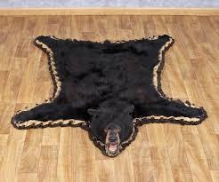 medium size of congenial black bear rug taxidermy bear rug then full size for head