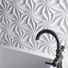 25 spectacular 3d wall tile designs to boost depth and texture homesthetics ideas 23