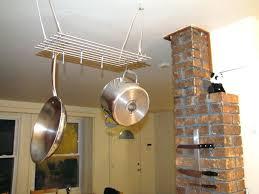 pot rack ideas ceiling to hang pots and pans wall mounted hanging pot rack wooden pan wooden pot rack ideas pot hangers diy