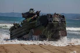 Five Marines In Critical Condition After Aav Catches Fire