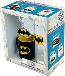 Набор ABYstyle DC Comics <b>Batman</b> Бокал, 290 мм + Брелок + ...