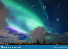 Northern Lights Iceland 2018 Aurora Borealis Northern Lights In Iceland Stock Photo