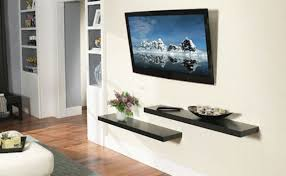 tv wall mounted ideas house 14 modern tv mount for your best room in 2018 intended 3