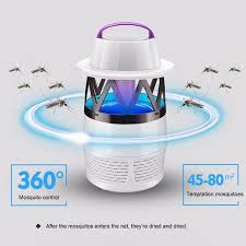 Inhalant Mosquito Killer Lamp Electronic Bug Zapper Light No
