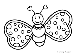 Small Picture Butterfly coloring pages cute for kids printable free Coloring