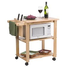 The Stetson Microwave Cart - $115.99 @hayneedle